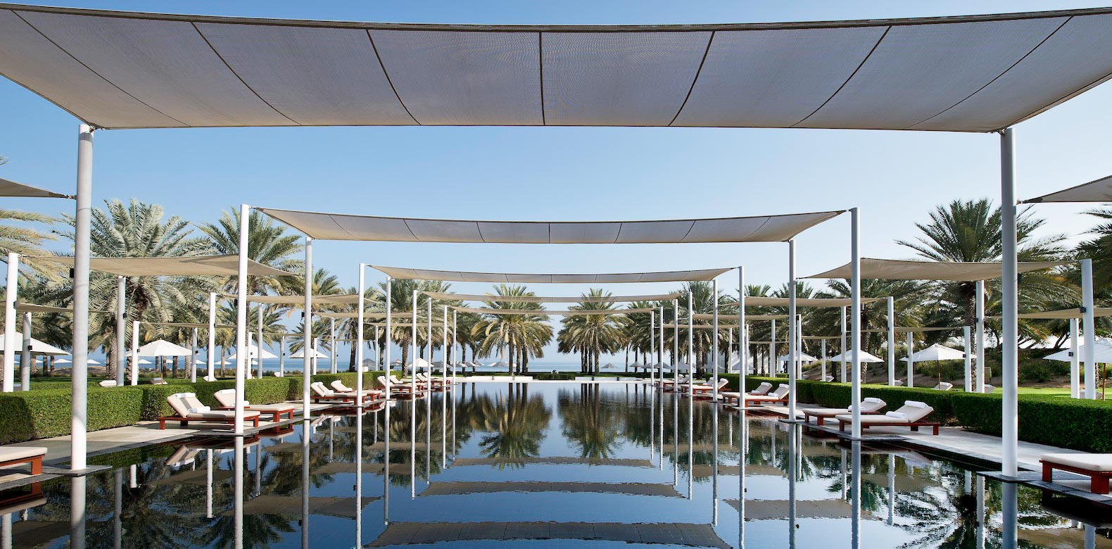 The Chedi Muscat - Serai Pool - GHM hotels - Luxury Hotel Oman